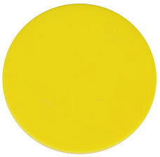 Token Ø 38 mm yellow