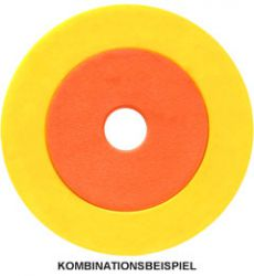 Token/Ring combination Ø 38 mm with Ø 23.3 mm inner token
