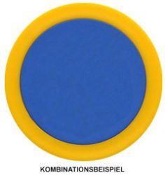 Chip/Ring-Kombination Ø 38 mm mit Ø 30 mm Innenchip