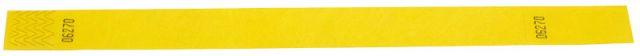 Tystar mit Abriss - ohne Aufdruck Gelb | 100er Pack
